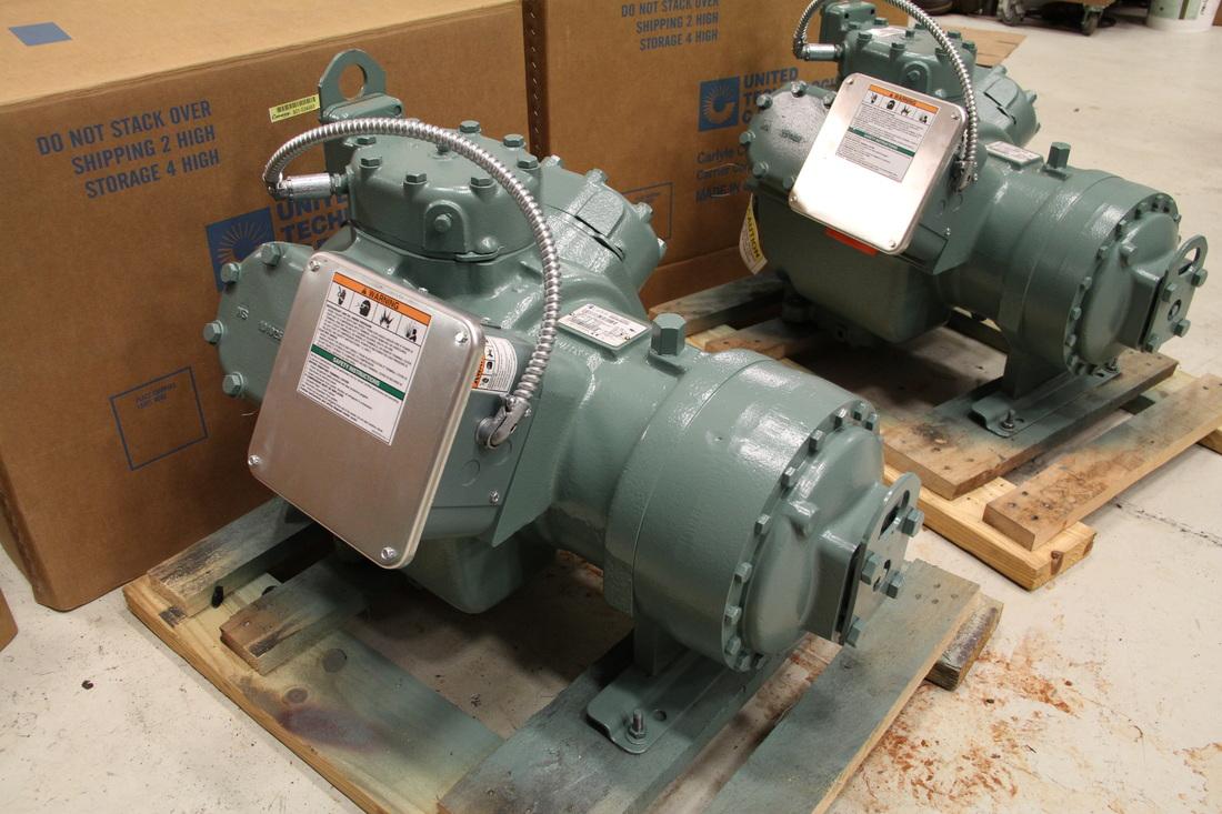 06D/E Semi-hermetic Compressors Equipment